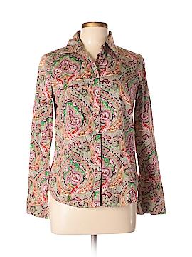 Talbots Long Sleeve Button-Down Shirt Size 10