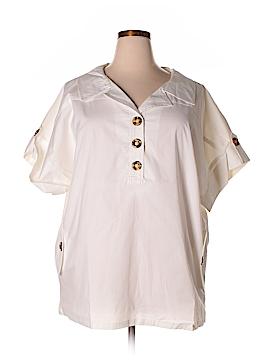 Spiegel Short Sleeve Blouse Size 18 (Plus)