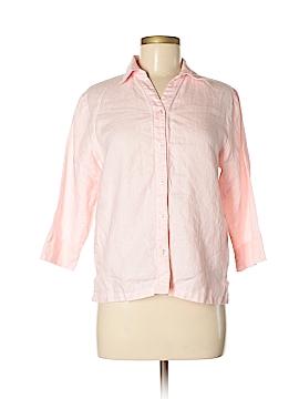 Westbound 3/4 Sleeve Button-Down Shirt Size 8