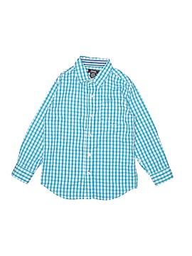 IZOD Long Sleeve Button-Down Shirt Size M (Tots)