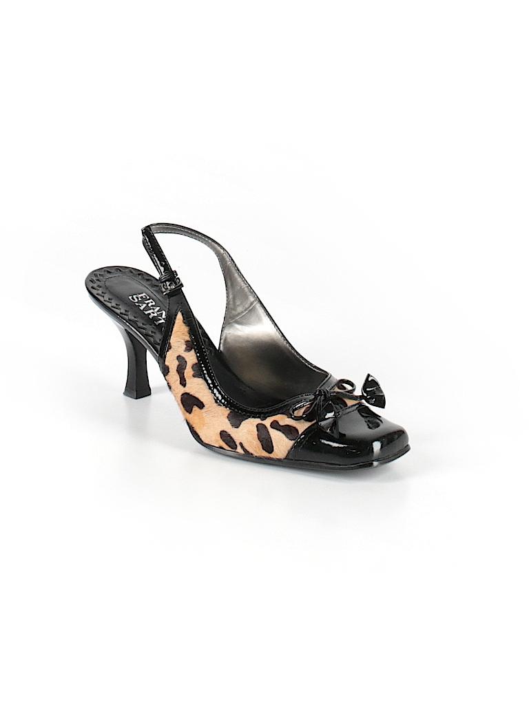 5d259923dff2 Franco Sarto Animal Print Beige Heels Size 6 1/2 - 69% off | thredUP