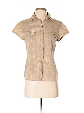MICHAEL Michael Kors Short Sleeve Button-Down Shirt Size S
