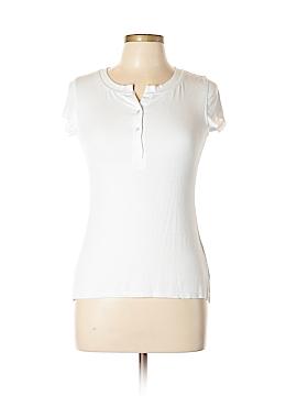 Pure & Good Short Sleeve Henley Size XS