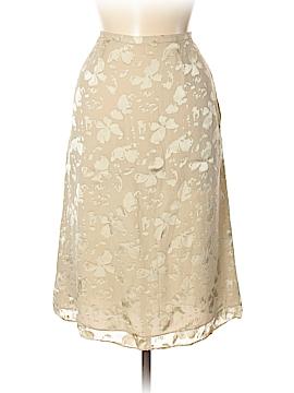 Rena Rowan Silk Skirt Size 8