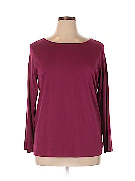 DressBarn Long Sleeve T-Shirt Size 1X (Plus)