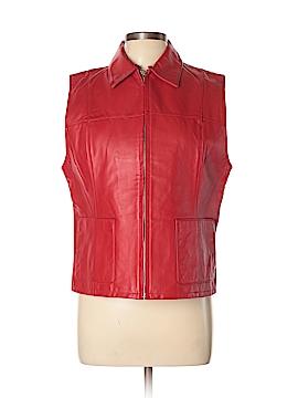 Lisa International Leather Jacket Size L