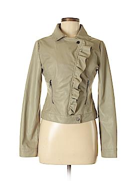 Rue21 Women Faux Leather Jacket Size S
