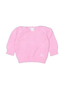 Ralph Lauren Pullover Sweater Size 6 mo