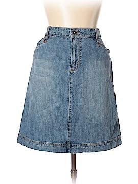 IZOD Denim Skirt Size 12