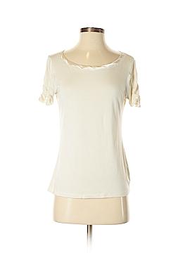 August Silk Short Sleeve T-Shirt Size S