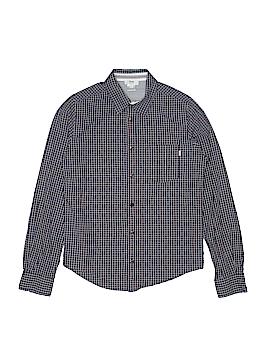 BOSS by HUGO BOSS Long Sleeve Button-Down Shirt Size 14
