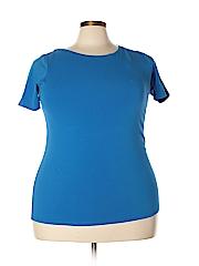 Jones New York Signature Women Short Sleeve T-Shirt Size 1X (Plus)