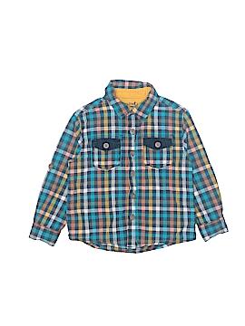 Genuine Kids from Oshkosh Long Sleeve Button-Down Shirt Size 4T