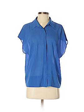 Robert Rodriguez Short Sleeve Silk Top Size 4