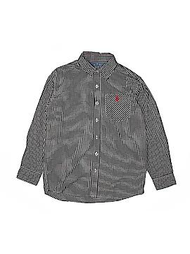 U.S. Polo Assn. Long Sleeve Button-Down Shirt Size 10
