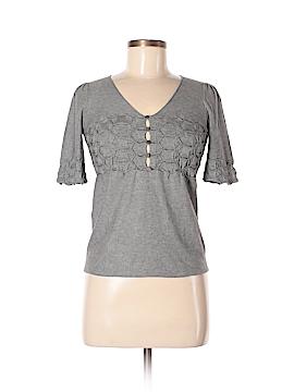 Emporio Armani Silk Pullover Sweater Size 4