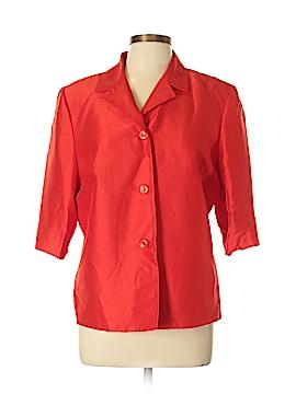 Josephine Chaus Silk Blazer Size 12