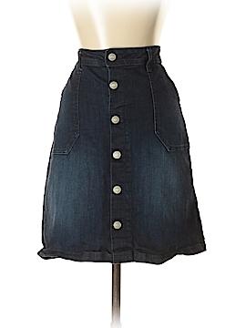 Kensie Denim Skirt 27 Waist