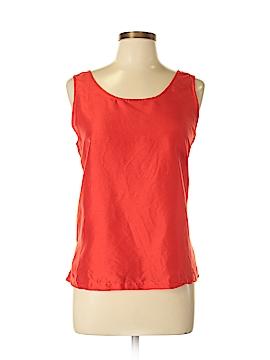 Josephine Chaus Sleeveless Silk Top Size 12