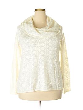 IMAN Long Sleeve Top Size 1X (Plus)