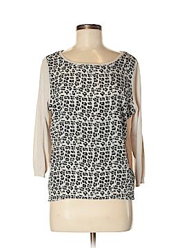 Olivia Sky 3/4 Sleeve Blouse Size M