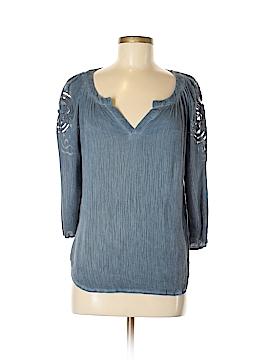 Blue Rain 3/4 Sleeve Top Size M