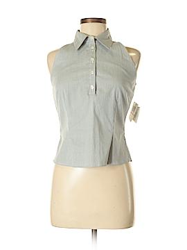 Lennie For Nina Leonard Sleeveless Button-Down Shirt Size 6