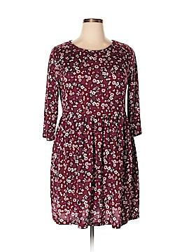 Mary McFadden Casual Dress Size 18 (Plus)