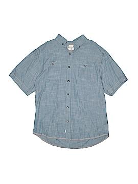 Paper Denim & Cloth Short Sleeve Button-Down Shirt Size 14 - 16