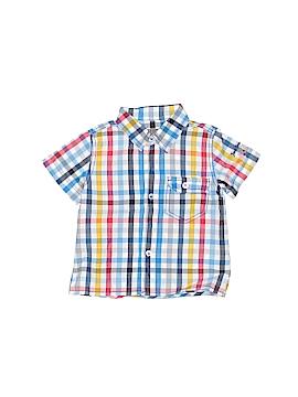 Jean Bourget Short Sleeve Button-Down Shirt Size 9 mo