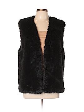 WAYF Faux Fur Vest Size L
