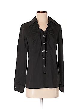Simonton Says Long Sleeve Button-Down Shirt Size XS