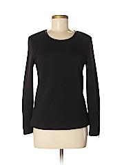 Noir Women Long Sleeve Top Size S