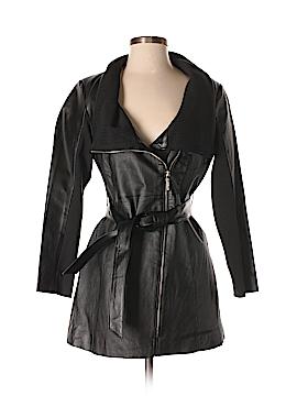 IMAN Leather Jacket Size XS