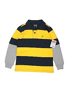 Wrangler Jeans Co Long Sleeve Polo Size 6 - 7