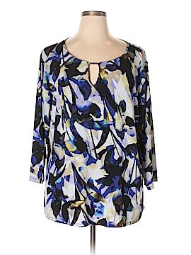 Calvin Klein 3/4 Sleeve Top Size 3X (Plus)
