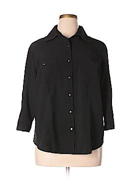 Classic Elements 3/4 Sleeve Blouse Size 20W (Plus)
