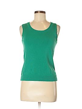 August Silk Sweater Vest Size M (Petite)