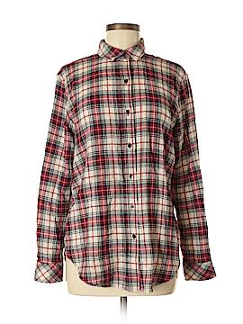 Versona Long Sleeve Button-Down Shirt Size M