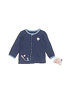Vitamins Baby Long Sleeve Button-Down Shirt Size 6 mo