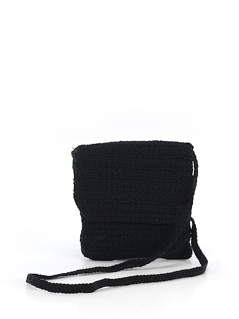 The Sak Crochet Black Crossbody Bag One Size 74 Off Thredup