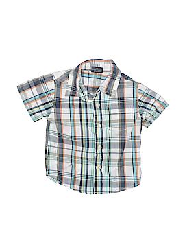 Fadedgear Short Sleeve Button-Down Shirt Size 12 mo
