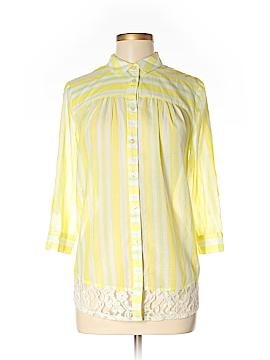 Edme & Esyllte 3/4 Sleeve Button-Down Shirt Size 4