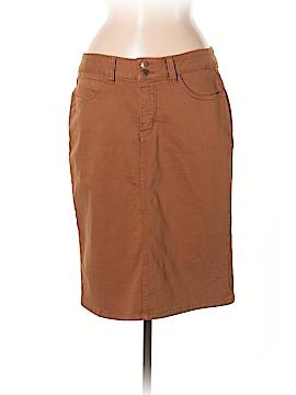 MiracleBody Denim Skirt Size 8