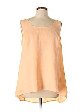 PREMISE Sleeveless Blouse Size 0X (Plus)