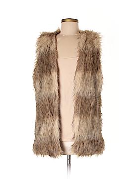 Me Jane Faux Fur Vest Size M