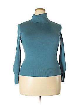 Classiques Entier Silk Pullover Sweater Size XL