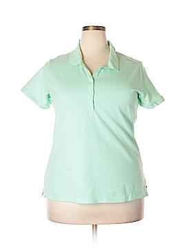 Eddie Bauer Short Sleeve Polo Size 2X (Plus)