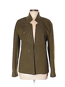 Linda Allard Ellen Tracy Wool Cardigan Size S