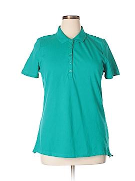 Laura Scott Short Sleeve Polo Size XL